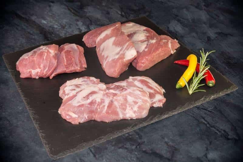 BBQ Special Cuts vom Freilandschwein